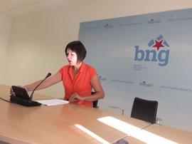 """El BNG crítica que la Xunta """"obvie"""" los acuerdos del Parlamento sobre violencia de género"""