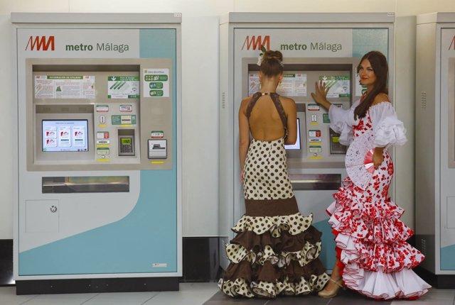 Feria, metro, málaga,