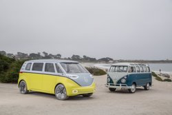 Volkswagen produirà un microbus elèctric basat en l'I.D. Buzz, que arribarà al mercat el 2022 (VOLKSWAGEN)