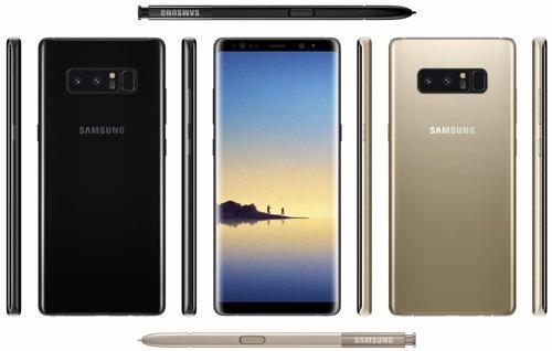 Filtración del supuesto diseño de Samsung Galaxy Note 8