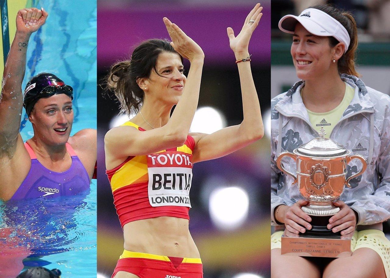 Las deportistas españolas del momento y el jugador canterano que deja con la boca abierta a la afición madridista