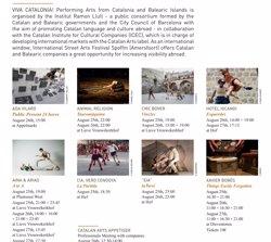 Vuit companyies catalanes i balears participen en l'Spoffin Street Arts Festival holandès (IRL)