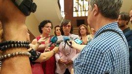 """Junta espera conocer """"cuanto antes"""" las causas del accidente en el hospital Virgen de Valme"""