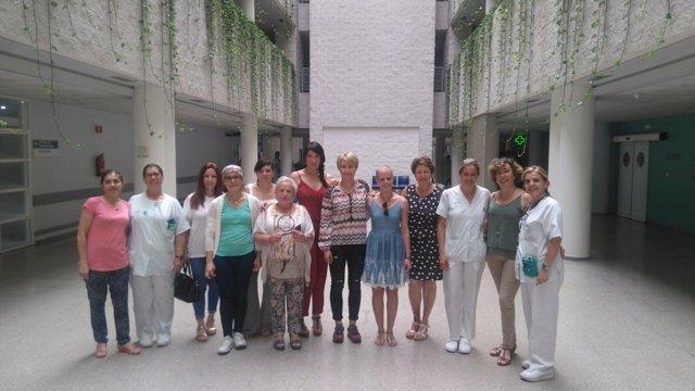 Escuela de Pacientes de Cáncer de Mama del hospital Juan Ramón Jiménez.