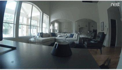 Esto es lo último que grabó una cámara de vigilancia en una casa llena de pre-adolescentes