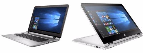 Nuevos dispositivos HP vuelta al cole ordenadores portátiles convertibles