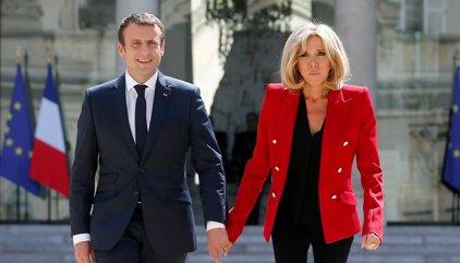 Macron renuncia a instaurar el estatus de 'primera dama'