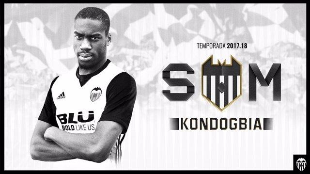 Geoffrey Kondogbia arriba al València