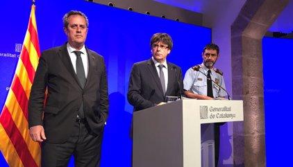 Los Mossos no dan por cerrada la operación antiterrorista