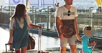 Isa Pantoja y Alejandro Albalá ponen rumbo a unas nuevas vacaciones junto a Albertito