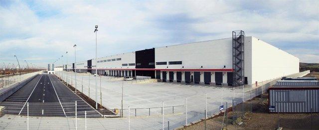 Centro logístico de Amazon en Getafe