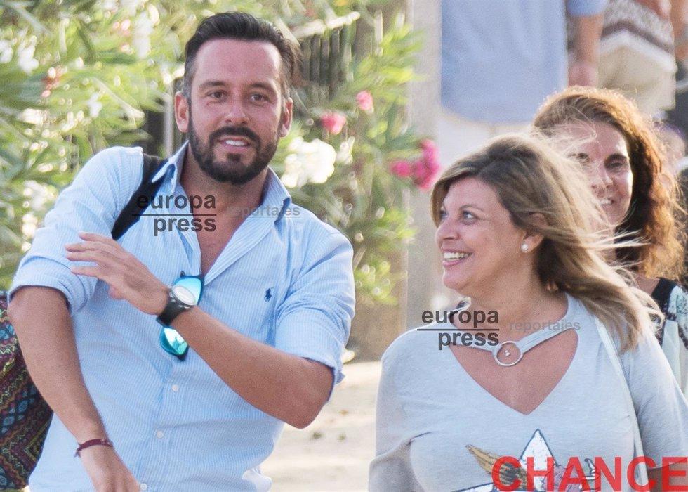 Terelu Campos y Kike Calleja, inseparables