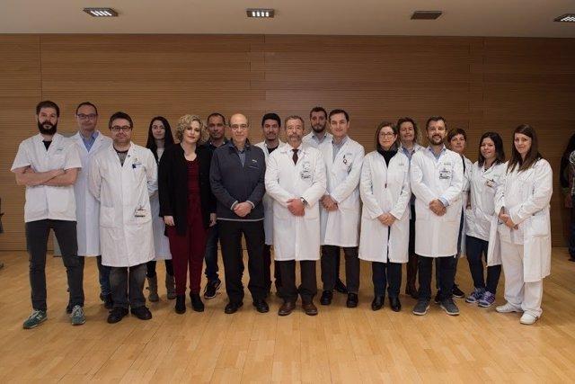 Equipo de Miquel Navasa del Hosp.Clínic