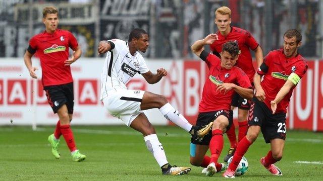 Partit de la Bundesliga entre Eintracht Frankfurt i Friburg