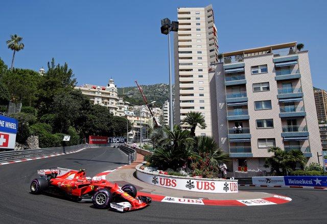 Kimi Raikkonen Mónaco