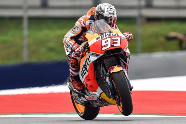 El pilot espanyol de MotoGP Marc Márquez
