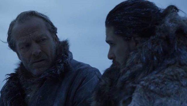 Juego de tronos Jorah Jon Snow