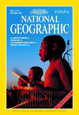 Portada revista National Geographic Espanya