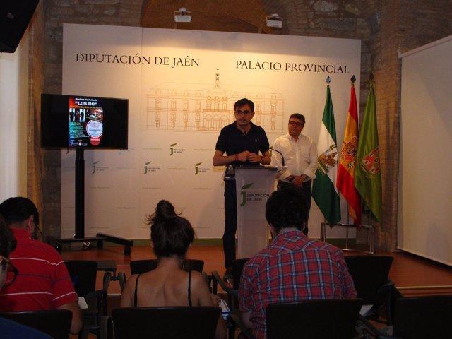 Presentación del festival Los 80, de Castillo de Locubín.