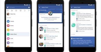 Facebook estrena una pestaña permanente de 'Safety Check'