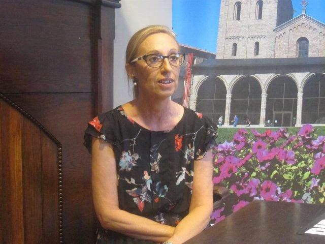 Maria Dolors Vilalta, teniente de alcalde del Ayuntamiento de Ripoll