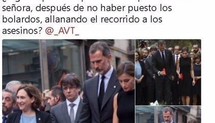 """Alcalde de Alrcorcón acusa a Colau de """"allanar el recorrido a los asesinos"""" al no poner bolardos en La Rambla"""
