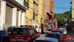 Un incendi crema completament el rebedor i la cuina d'un pis de Montmeló (ACN)