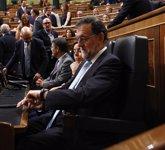 Foto: El Congreso debatirá y votará el jueves si cita a comparecer a Rajoy y ocho ministros