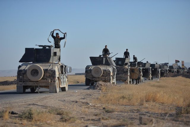 Las fuerzas iraquíes, apoyadas por milicias locales, entran en Tal Afar