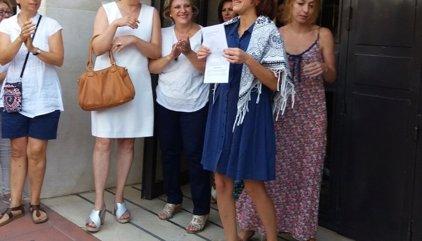 """Juana Rivas sale del juzgado en libertad provisional: """"Me voy a casa con mis niños y vamos a seguir peleando"""""""