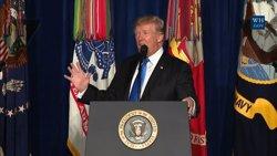 Trump abandona la seva promesa electoral i anuncia un nou desplegament de tropes a l'Afganistan (EUROPAPRESS)