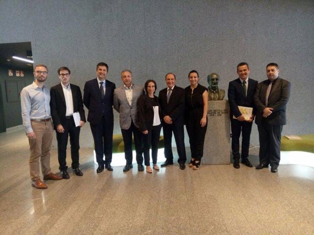 Encuentro de empresarios de la telecomunicación de España y Argelia en Bilbao