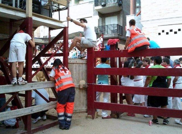 Dispositivo Fiestas Mendavia 2017 Cruz Roja Navarra