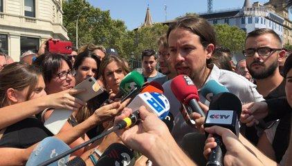Pablo Iglesias condiciona la unidad contra el yihadismo a revisar relaciones con Arabia Saudí y Qatar