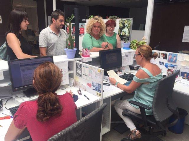 Imagen del registro de renuncia de la alcaldesa de Aranjuez