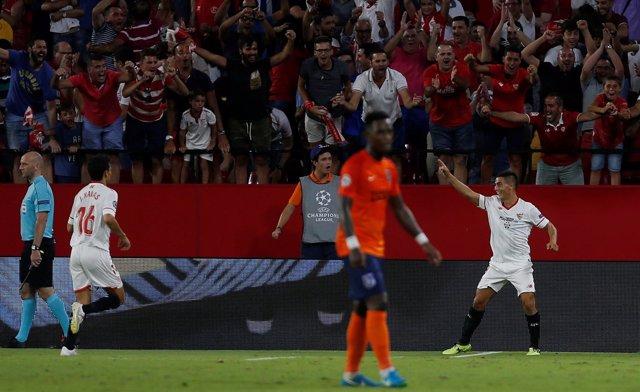 El Sevilla elimina al Istanbul Basakshehir en la Liga de Campeones