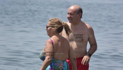 Carmen Borrego y José Carlos Bernal disfrutan de sus vacaciones en Marbella