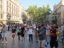 Castellar (Barcelona) ofereix autocars gratuïts per assistir a la manifestació de dissabte (EUROPA PRESS)
