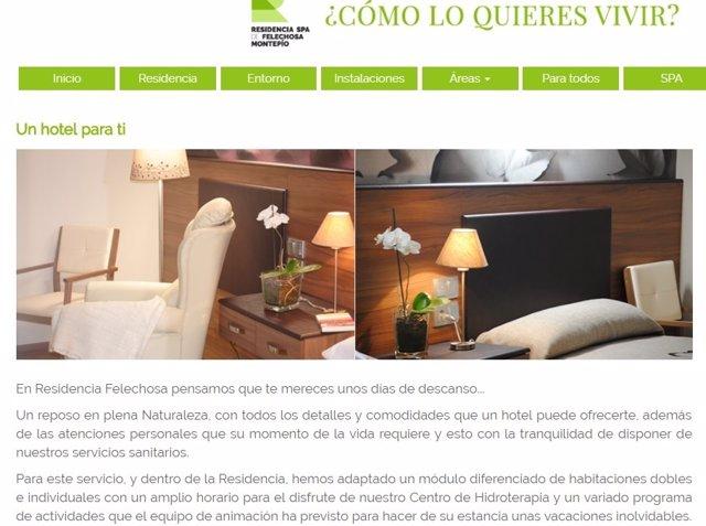 Página web del Montepío