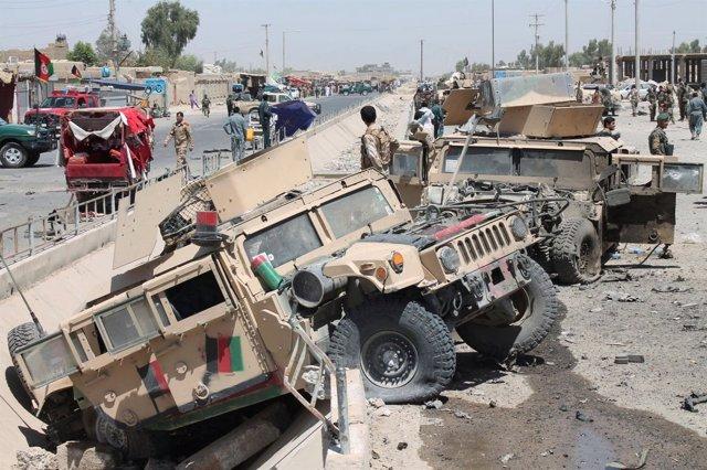 Atentado suicida en Helmand