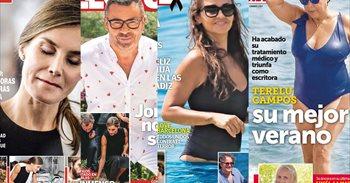 Terelu en bañador, las vacaciones de Jorge Javier y la luna de miel de Mariñas