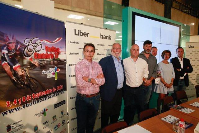 Presentación de la Vuelta Ciclista a Cantabria