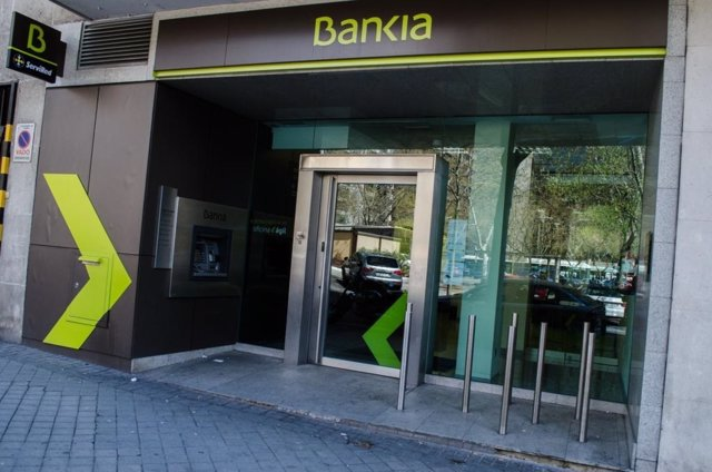 Sucursal, banco Bankia