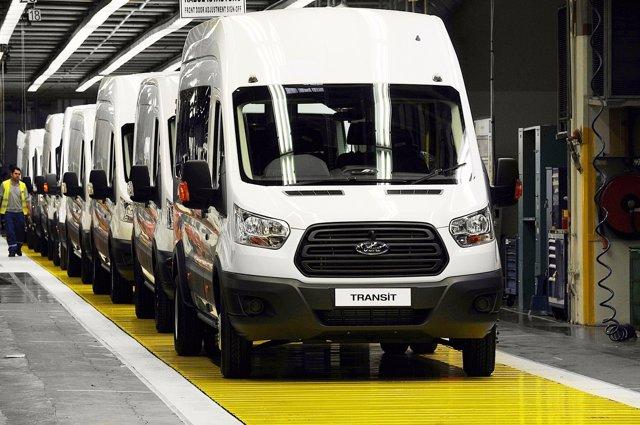 Producción Ford Transit