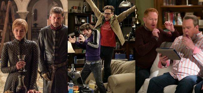 Los protagonistas de The Big Bang Theory lideran un año más la lista de actores mejor pagados de la televisión (HBO / CBS / ABC )