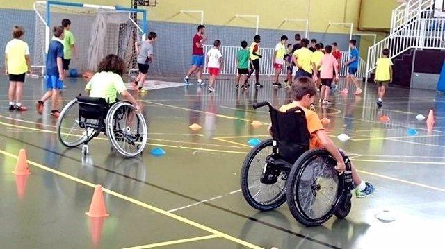 Jóvenes con discapacidad