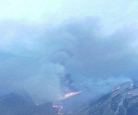 Se cierra el acceso al Cañón de Añisclo para facilitar el tránsito de los medios de extinción del incendio de Fanlo