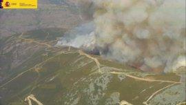 El Mapama ha efectuado 329 intervenciones en 111 incendios forestales en Galicia hasta el 20 de agosto
