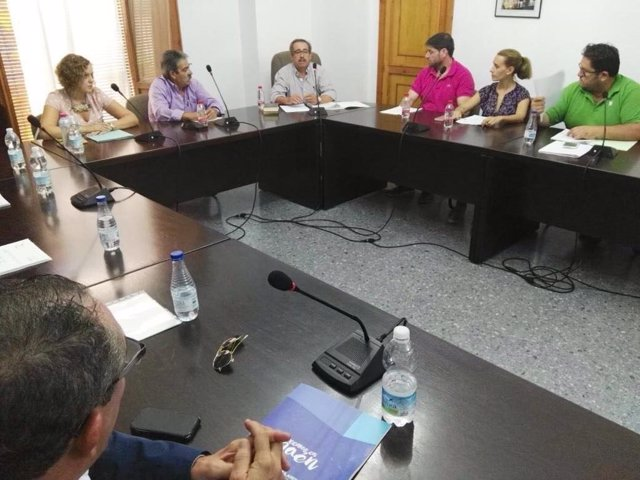 Pleno del Ayuntamiento de Begíjar en el que se ha debatido la moción de censura