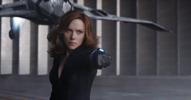 Viuda Negra en Capitán América: Civil War